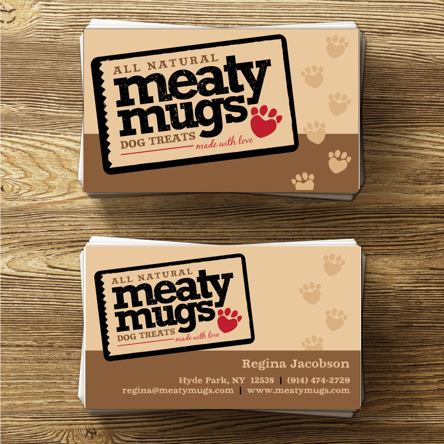 Meaty Mugs Business Cards