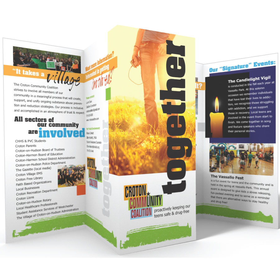 education pamphlet design