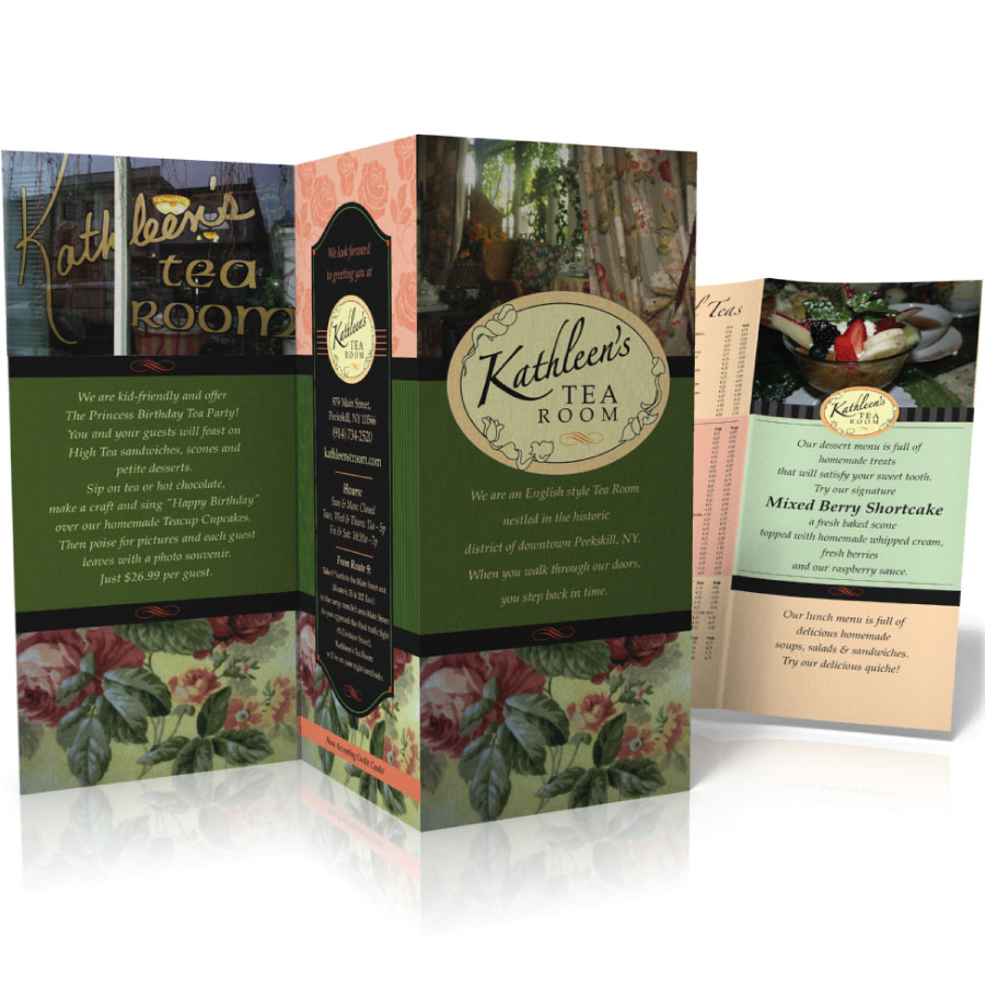 Kathleen's Tea Room Brochure