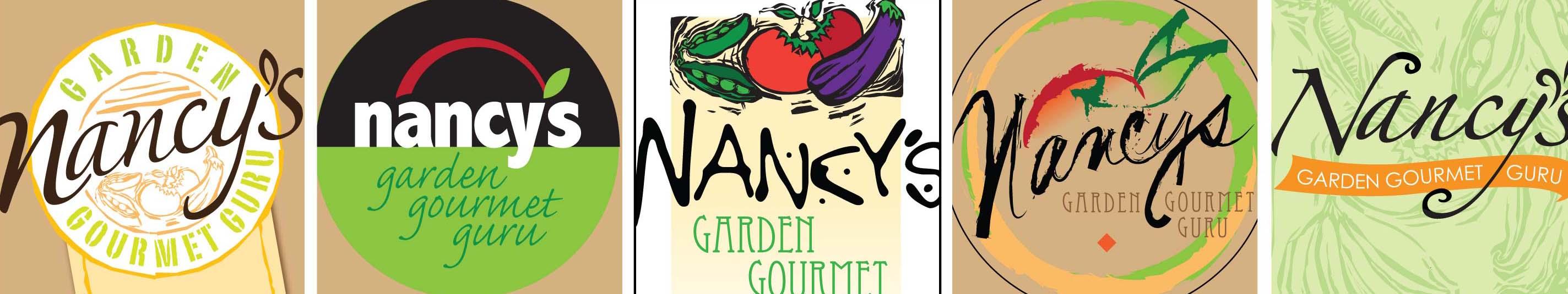 Garden Graphic Design indoor garden party graphic design We Presented Several Graphic Design Solutions For Nancys Garden Gourmet Logo Design