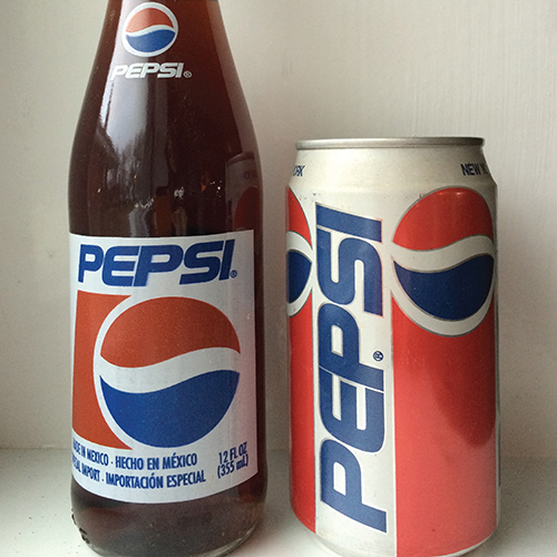 Pepsi Cola Can Package Design