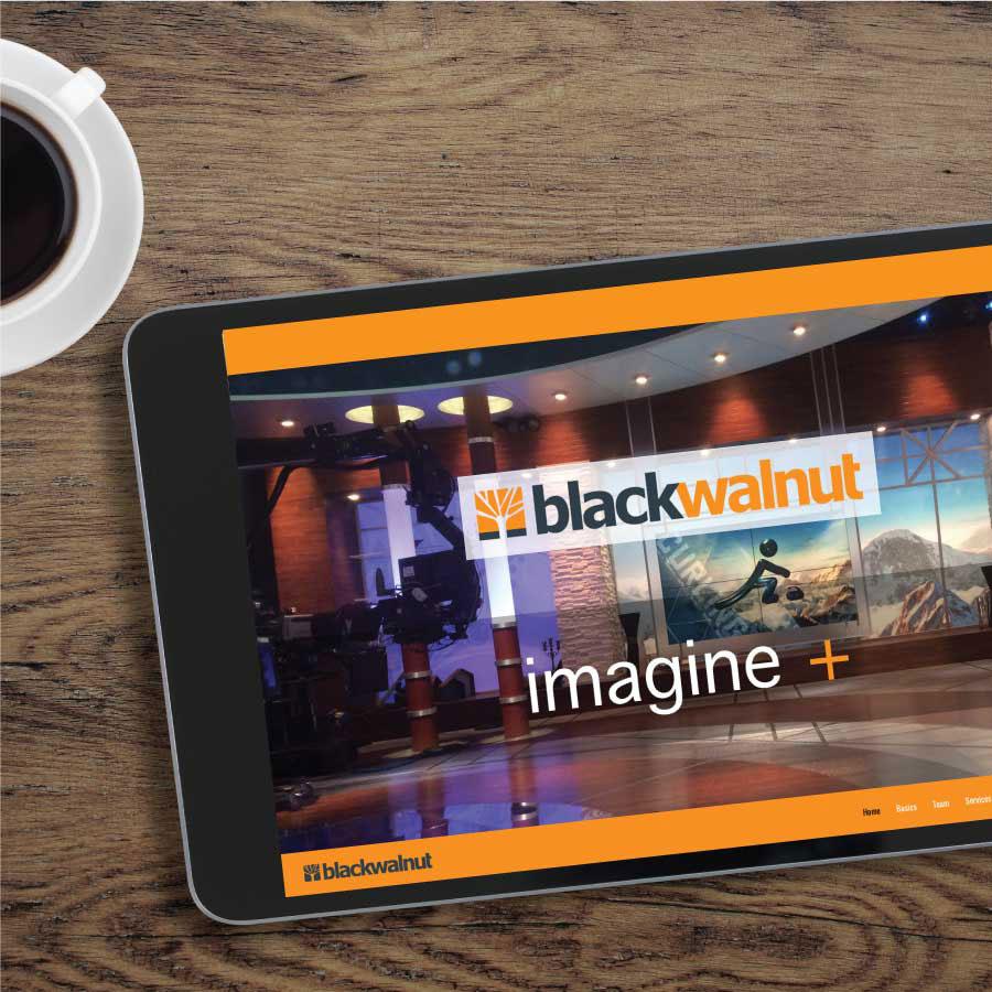 blackwalnut Website Design