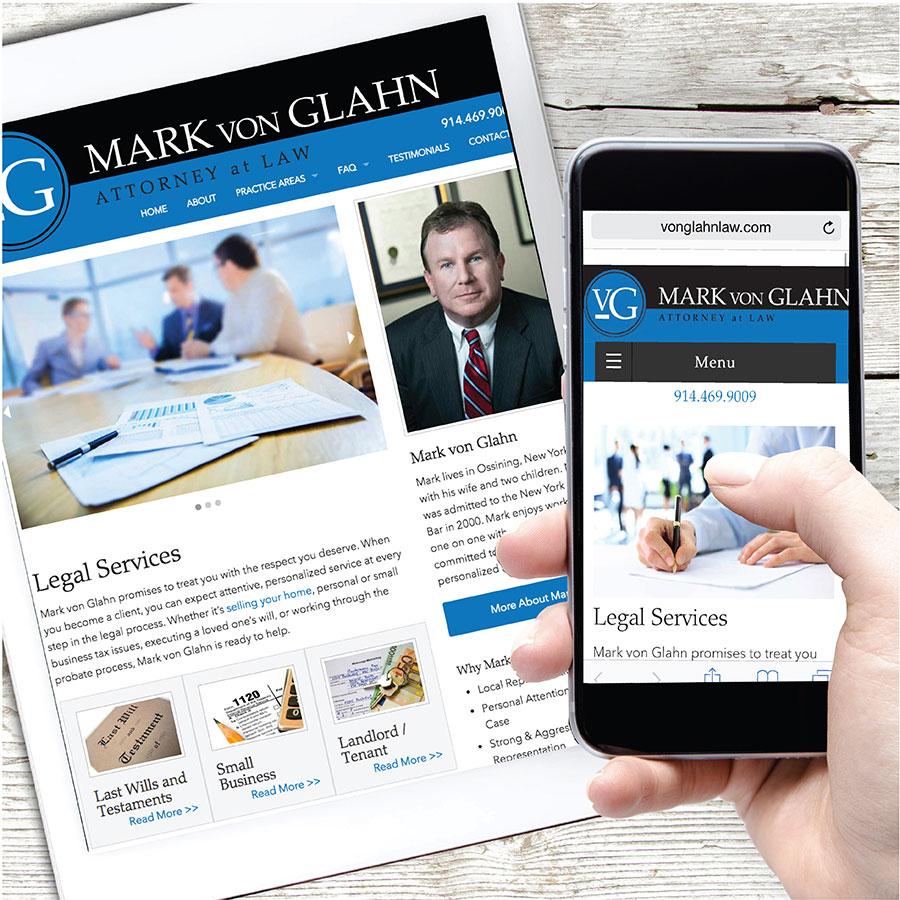 Mark Von Glahn Mobile Website