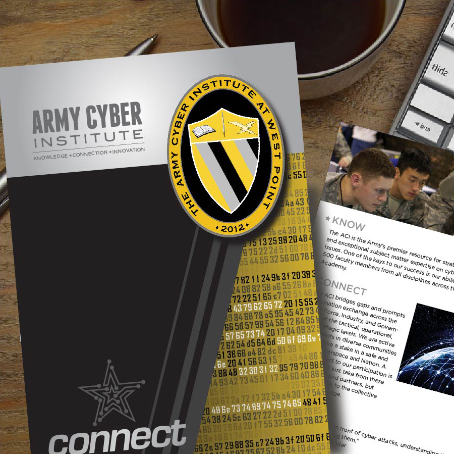 Army Cyber Institute Print brochure
