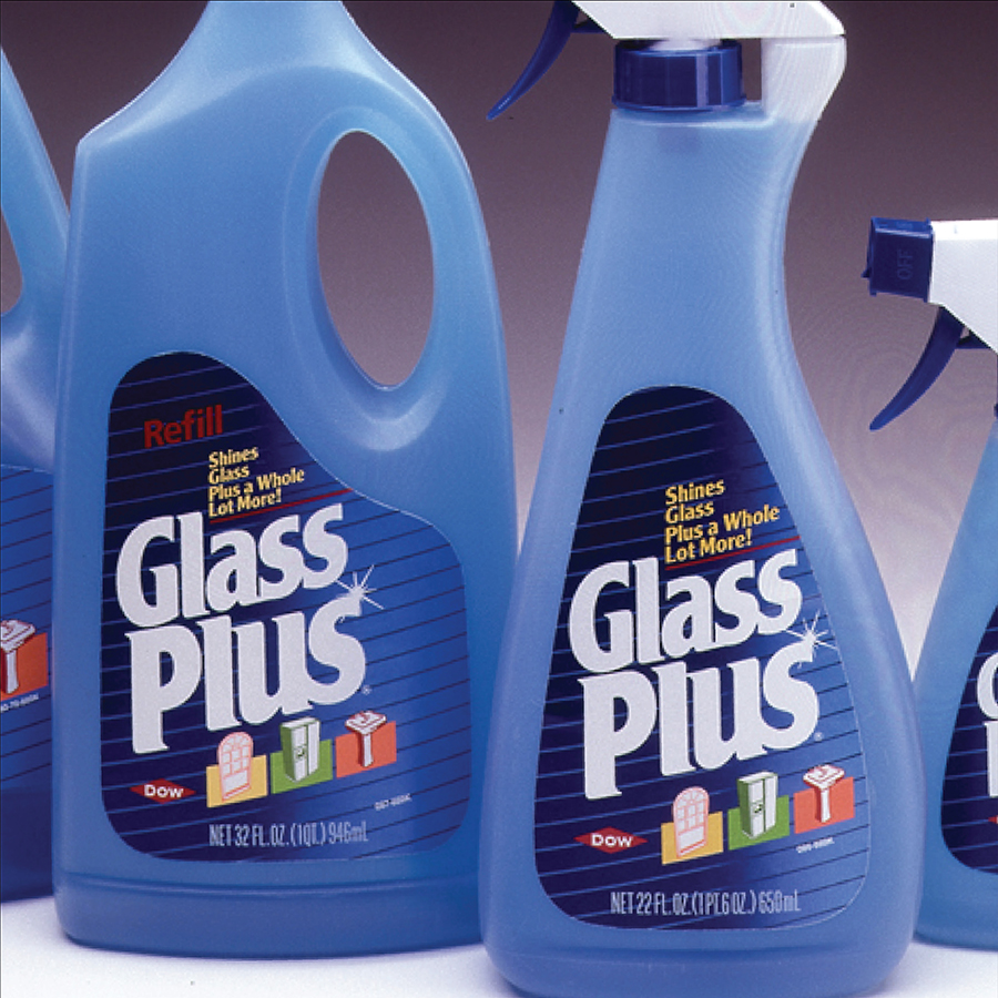 Glass Plus Consumer Package Design