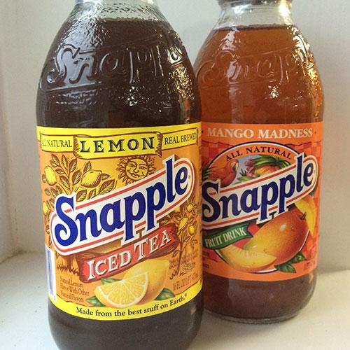 Snapple Beverage Packaging