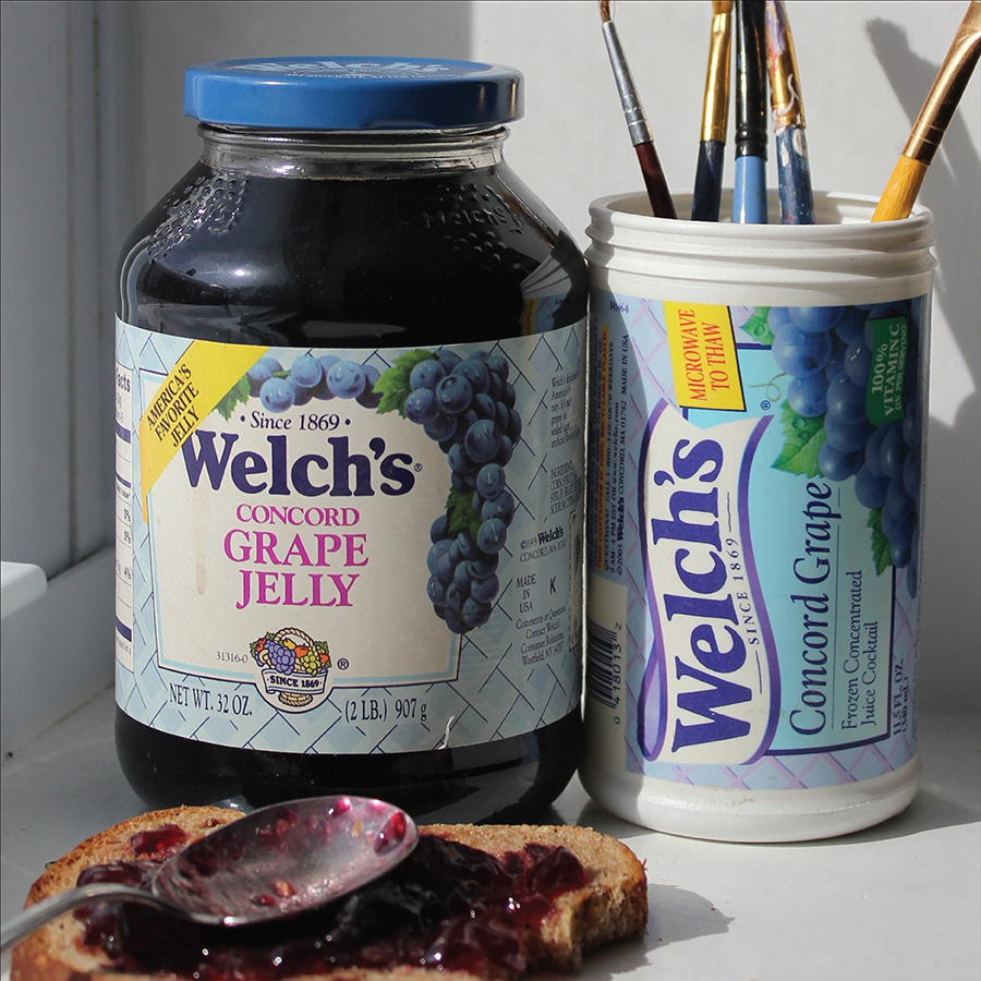 Welch's Grape Jelly Packaging